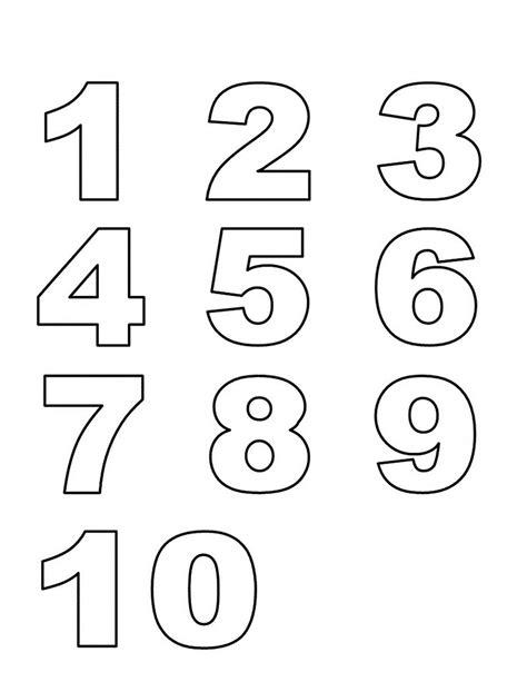 preschool number printables numbers 1 10 preschool printables learning printable 383