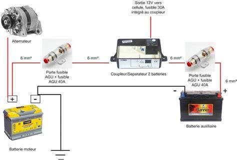 systeme electrique pour le installer une deuxi 232 me batterie qui se charge en roulant batterie auxiliaire
