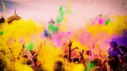 Festival Colors Holi Colorful Celebrations Colored India