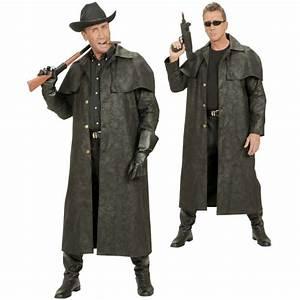 Gothic Kleidung Auf Rechnung : cowboy western mantel schwarz ~ Themetempest.com Abrechnung