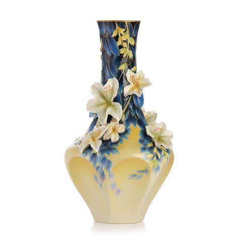 franz porcelain vase franz collection porcelain hong kong orchid tree vase