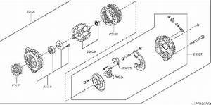 Nissan Rogue Cover   Rear   Valeo  Alternator  Assy