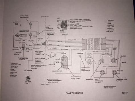 Amx Rally Pak Gauge Wiring Diagram The Amc Forum
