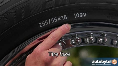 How To Read A Tire Size & Understanding A Tire Sidewall