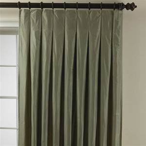 taffeta inverted pleat panel traditional curtains by With inverted pleat drapes
