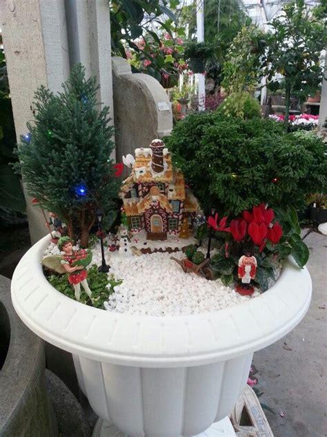 images  christmas fairy gardens