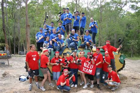 Paintball Team Building Games