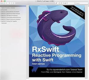 Download Rxswift Reactive Programming With Swift Third