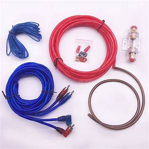 Car Audio Speakers Wiring Kits Cable Amplifier Subwoofer