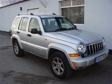 jeep limited 2006 used jeep cherokee 2006 diesel 2 8 crd limited 5dr 4x4