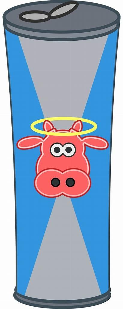 Clipart Energy Drink Cartoon Simple Transparent Bottle