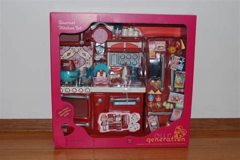 our generation kitchen set dolls our generation kitchen