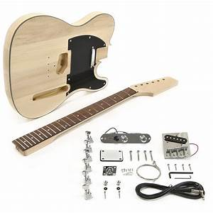 Knoxville Electric Guitar Diy Kit At Gear4music Com