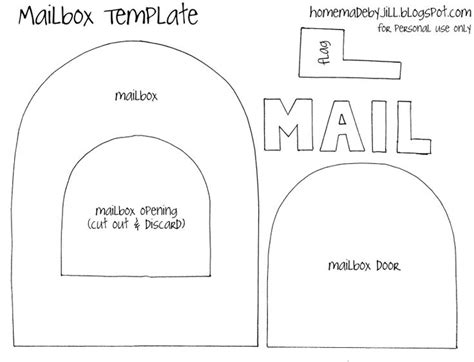 email template pattern paper crafts templates homemade by jill templates