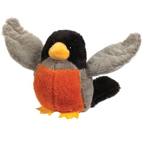 robin bird webkinz lil kinz plush toy