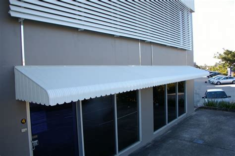 claredale aluminium hood  window deck balcony shop front
