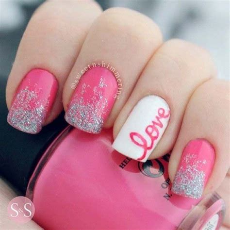 Acrylic Nail Designs For Valentine Days
