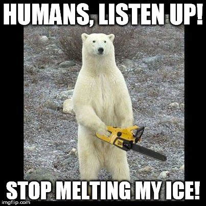Melting Meme - chainsaw bear meme imgflip