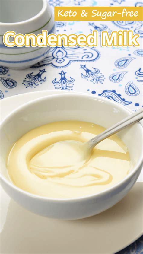 #chocolate #mousse #avocado #vegan #paleo #whole30. Keto & Sugar-free Condensed Milk | Sugar free condensed ...