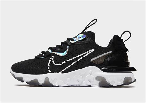 Night and daytime vision with the nike react vision, the swoosh's latest lightweight sneaker inspired by alebrijes, mythical creatures born out of the fever dreams of mexican folk artists. Buy Black Nike React Vision Women's | JD Sports