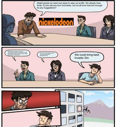 Boardroom Memes - nickelodeon board room meeting boardroom suggestion know your meme