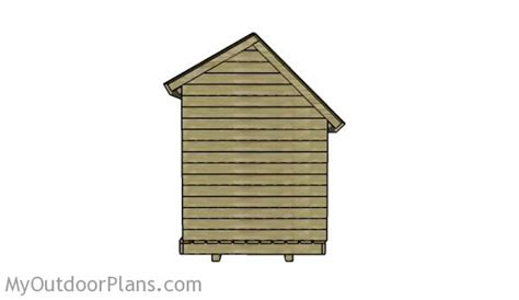 6x8 Wood Shed Plans by 6x8 Wood Shed Roof Plans Myoutdoorplans Free