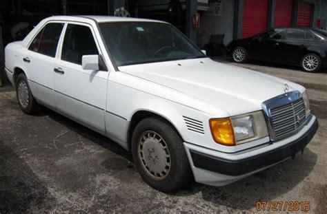 1992 mercedes benz 300d w124 sedan body e300d 2 5 l om602