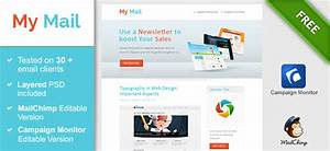 40 cool email newsletter templates With cool html email templates