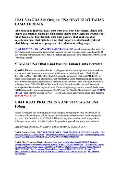 viagra asli original usa obat kuat tahan lama terbaik by