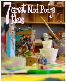 Mod Podge Project Ideas