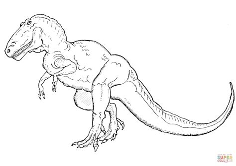Kleurplaat Indominus Rex by Tyrannosaurus Rex Coloring Page Free Printable Coloring