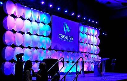 Backdrop Event Led Lighting Texture Stage Colorful