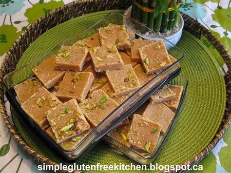 celebrating vaisakhi  besan burfi roasted gram flour