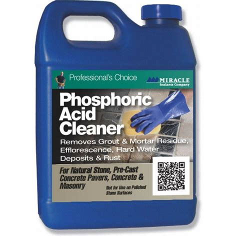 Miracle Sealants Tile And Cleaner Msds by Miracle Sealants 32 Oz Fast Acting Phosphoric Acid