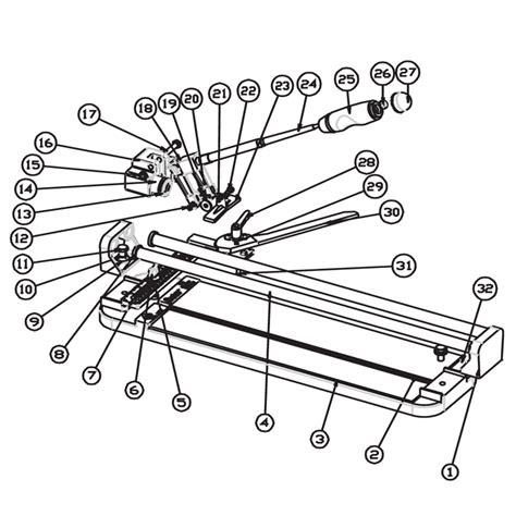 brutus tile saw 60010 28 60010 qep tile saw parts 10267 qep tile cutter