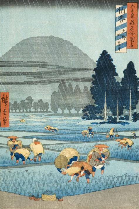 hiroshiges rainy moments seattle artist league