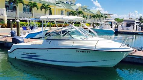 Used Hydra Sport Bay Boats For Sale by Used Hydra Sports Boats For Sale 10 Boats