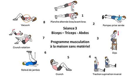 programme musculation a la maison votre inspiration 224 la maison