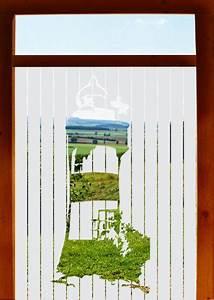 Türen Mit Folie Bekleben : blickschutz mit folie leuchtturm ~ Frokenaadalensverden.com Haus und Dekorationen