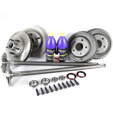 mustang  lug conversion kit  spline axles