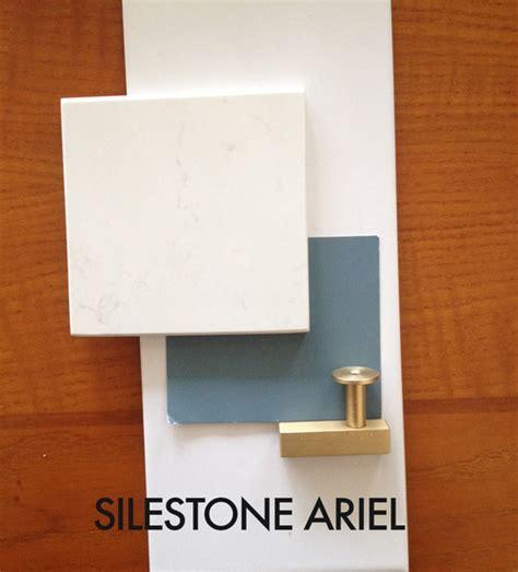 subway tile kitchen backsplash quartz countertops silestone ariel or lagoon