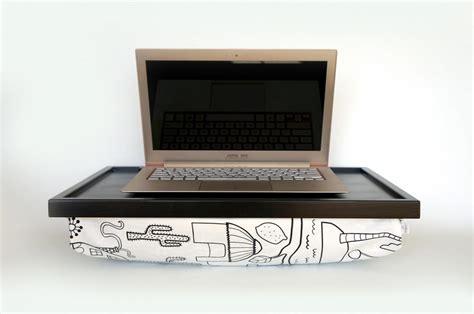 lap desk pillow for ipad ipad desk or laptop lap desk black with white pillow