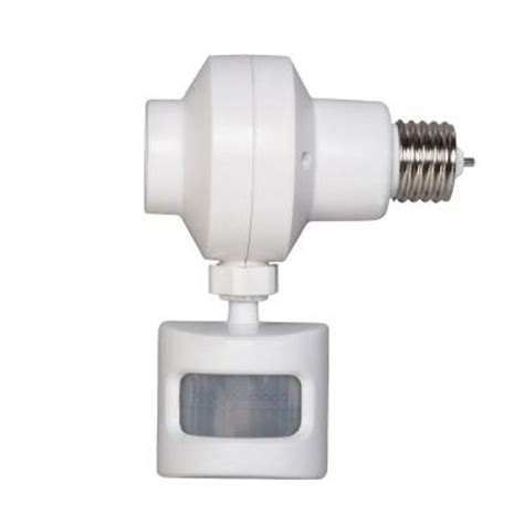 home automation motion sensor lights defiant outdoor motion activated light control omlc3bc 4