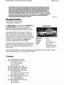 Mazda 323 History