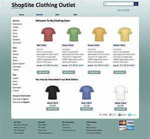 shopsite built in smooth template With shopsite templates