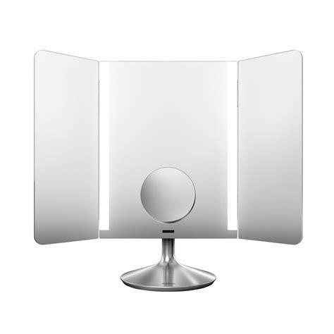 simplehuman vanity mirror simplehuman 1x wide view vanity pro makeup mirror the