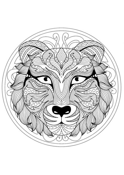 Coloring Mandala by Animal Mandala Coloring Pages Best Coloring Pages For