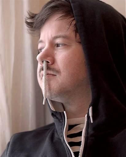 Romain Weird Nose Runny Gifs Portrait Laurent
