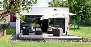 terrasse en bois 15 belles photos a voir cote maison With photo amenagement terrasse exterieur 15 amenager un jardin en longueur conseils astuces idees