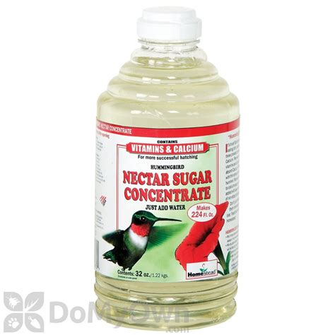 homestead clear hummingbird nectar sugar concentrate 32 oz